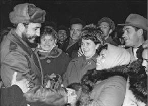 Фидель Кастро на севере