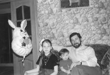 Федор Сизый в кругу семьи