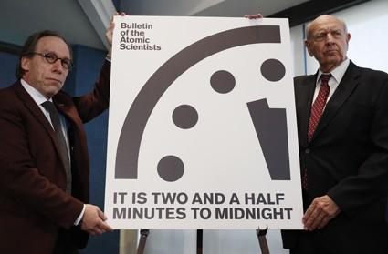 До конца света осталось 2,5 минуты
