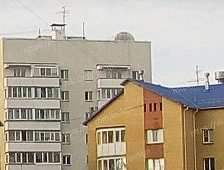 «Аист» на крыше
