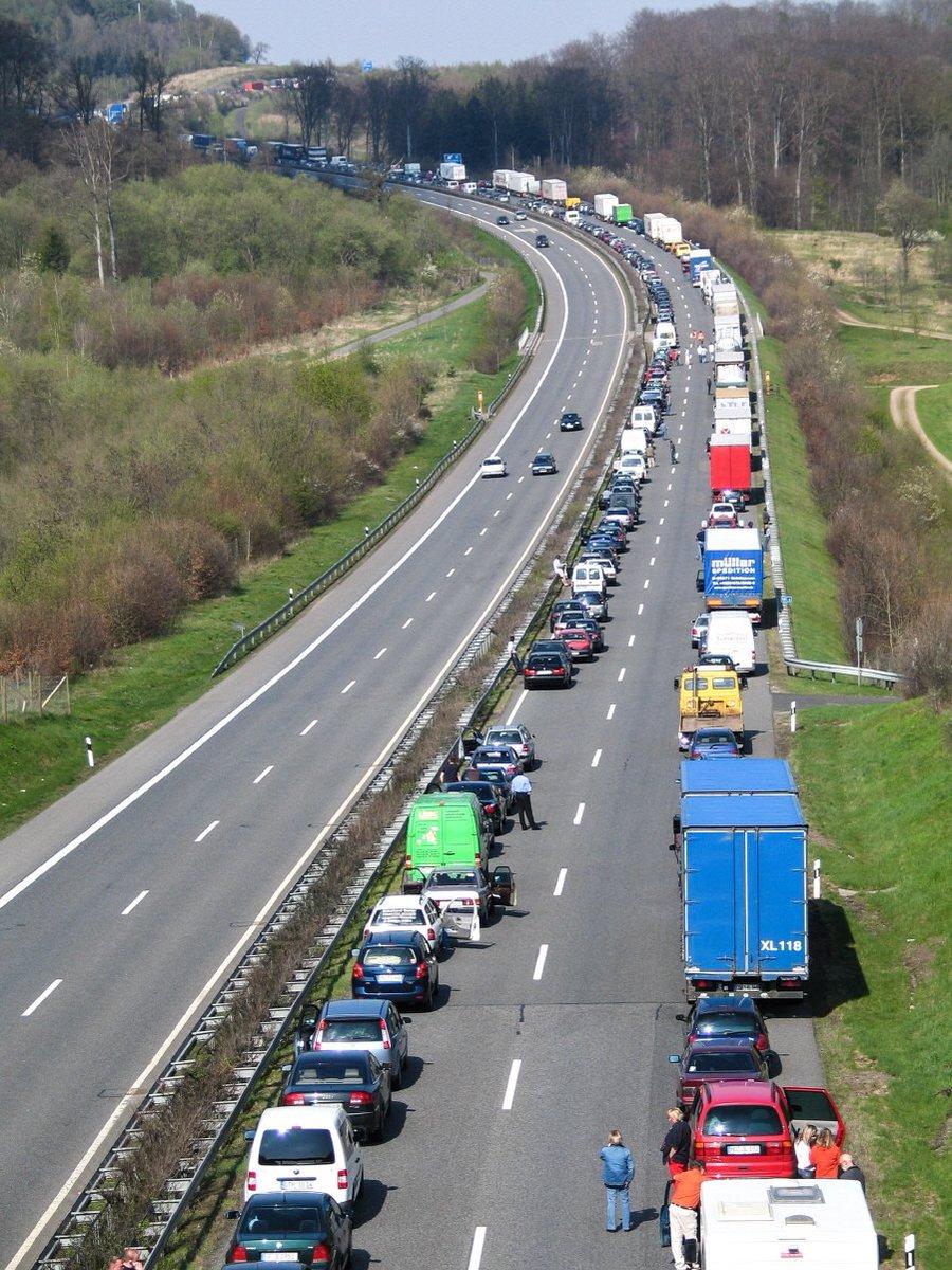 Немецкие пробки бьют рекорды