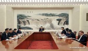 Заседание партийной группы ПК ВСНП 12-го созыва