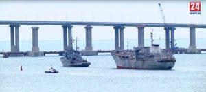 Крейсер в степях Украины