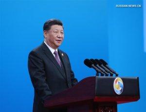"""Китай приветствует визит Путина в Пекин на форум """"Один пояс, один путь"""""""