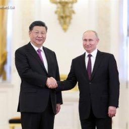 Председатель КНР Си Цзиньпин находится в России с государственным визитом