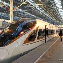 Высокоскоростная железнодорожная магистраль Пекин-Чжанцзякоу сдана в пробную эксплуатацию